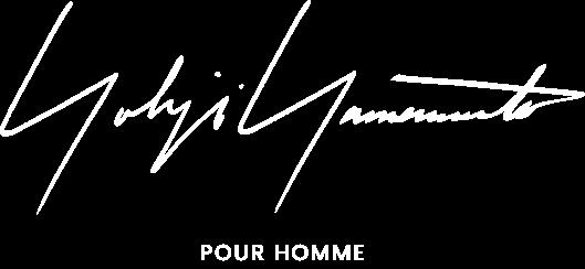 YOHJI YAMAMOTO POUR HOMME