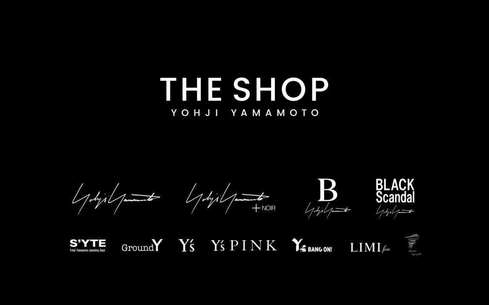Yohji Yamamoto – THE SHOP YOHJI YAMAMOTO JAPAN