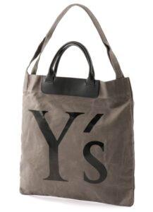 CANVAS Y's LOGO BAG