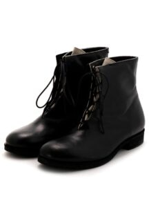 KAYONAKAMURAbyY's HORSE LEATHER LAYERED BOOTS