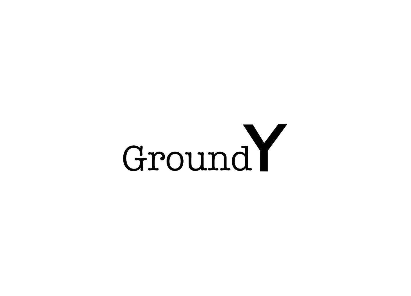 Ground Y 4TH ANNIVERSARY COLLECTION発売日変更のお知らせ