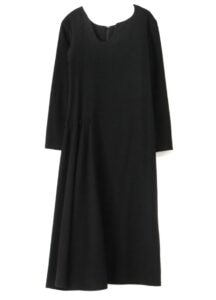RIGHT SIDE GATHER DRESS