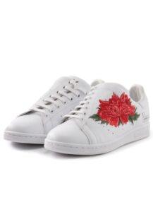 Y's x adidas Y's Diagonal Stan Smith Floral