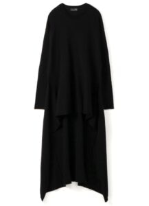 RISMAT by Y's BOTTOM FLARE PULL OVER