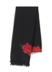 Floral Wool Stole
