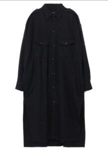 FLANNEL CHEST POCKET SHIRT DRESS
