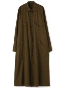 RAGLAN POCKET SHIRT DRESS