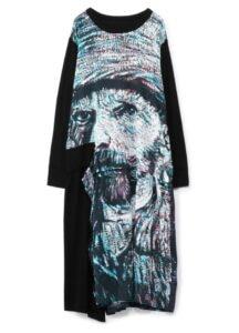 [Gogh] Rayon/Cotton No Fixing Docking T Long Dress
