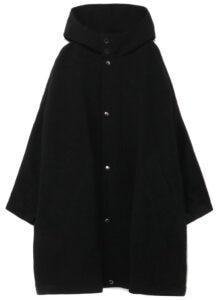 Vintage Flannel Big Hood Coat