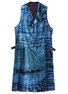 [Manet] Velvet Semi Double Long Vest