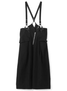 SUSPENDED WIDE TROUSERS