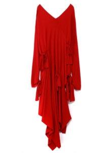 ASYMMETRICAL BOW DRESS