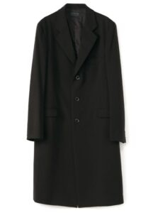 Pe/Rayon Gabardine Stretch 3BS Slim Long Jacket