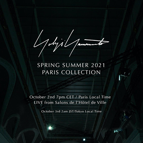 Yohji Yamamoto SPRING SUMMER 2021 PARIS COLLECTION