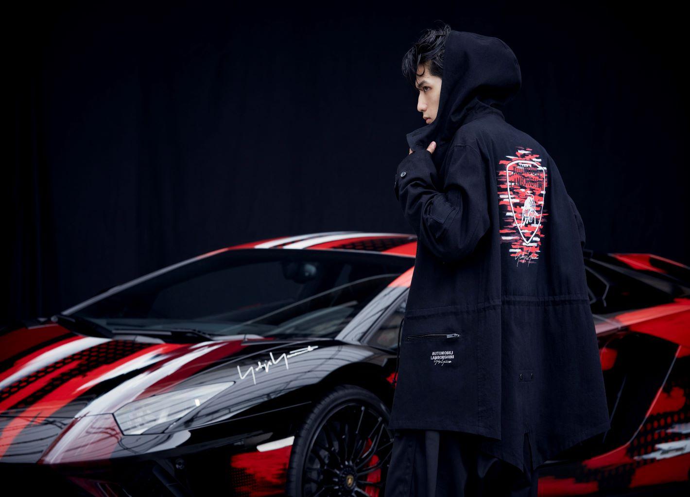 Yohji Yamamoto x Lamborghini Collaborative Pieces of Art CAPSULE COLLECTION