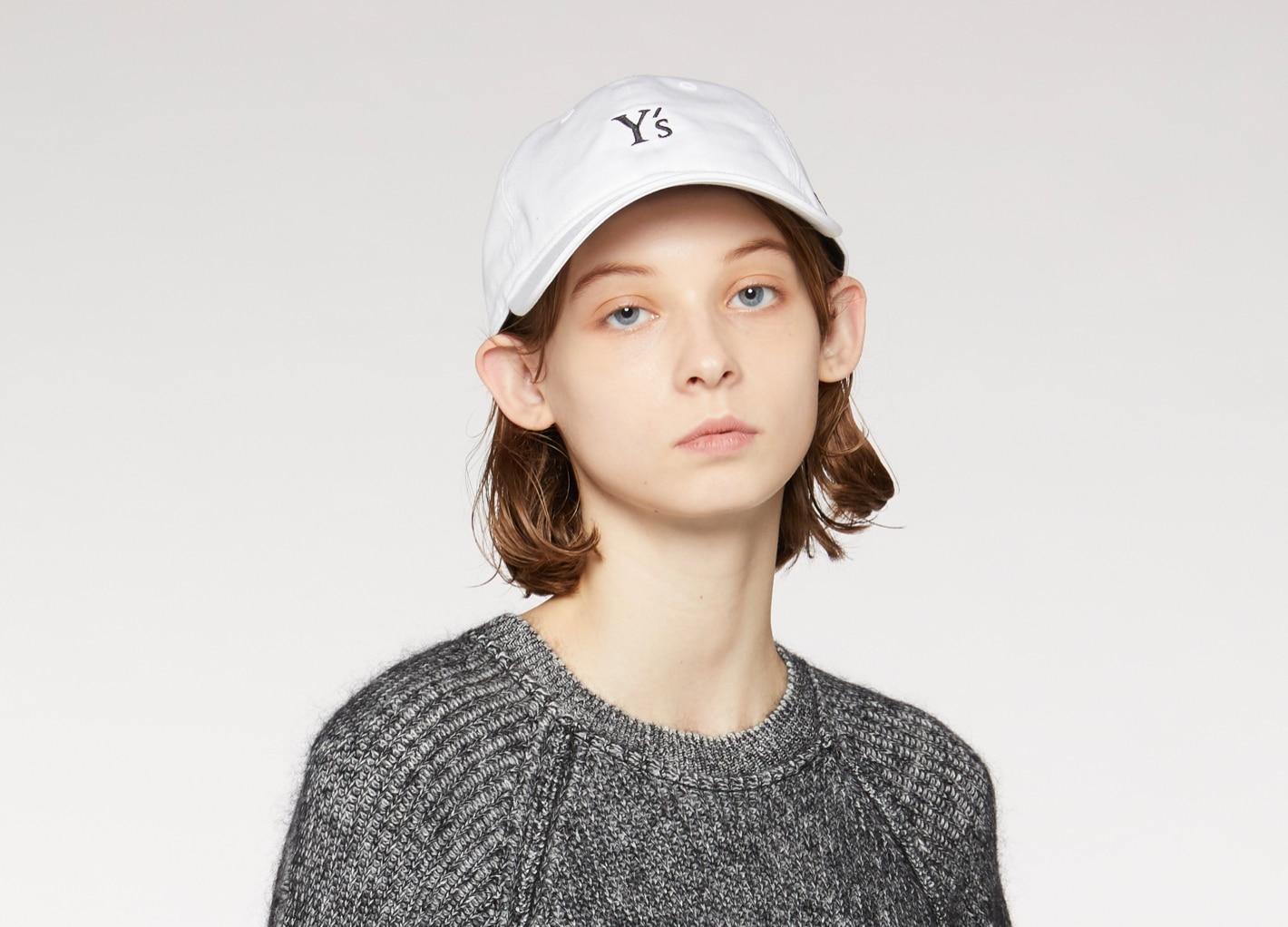 Y's New Era AW20  Y's 表参道、オンラインブティック限定キャップ
