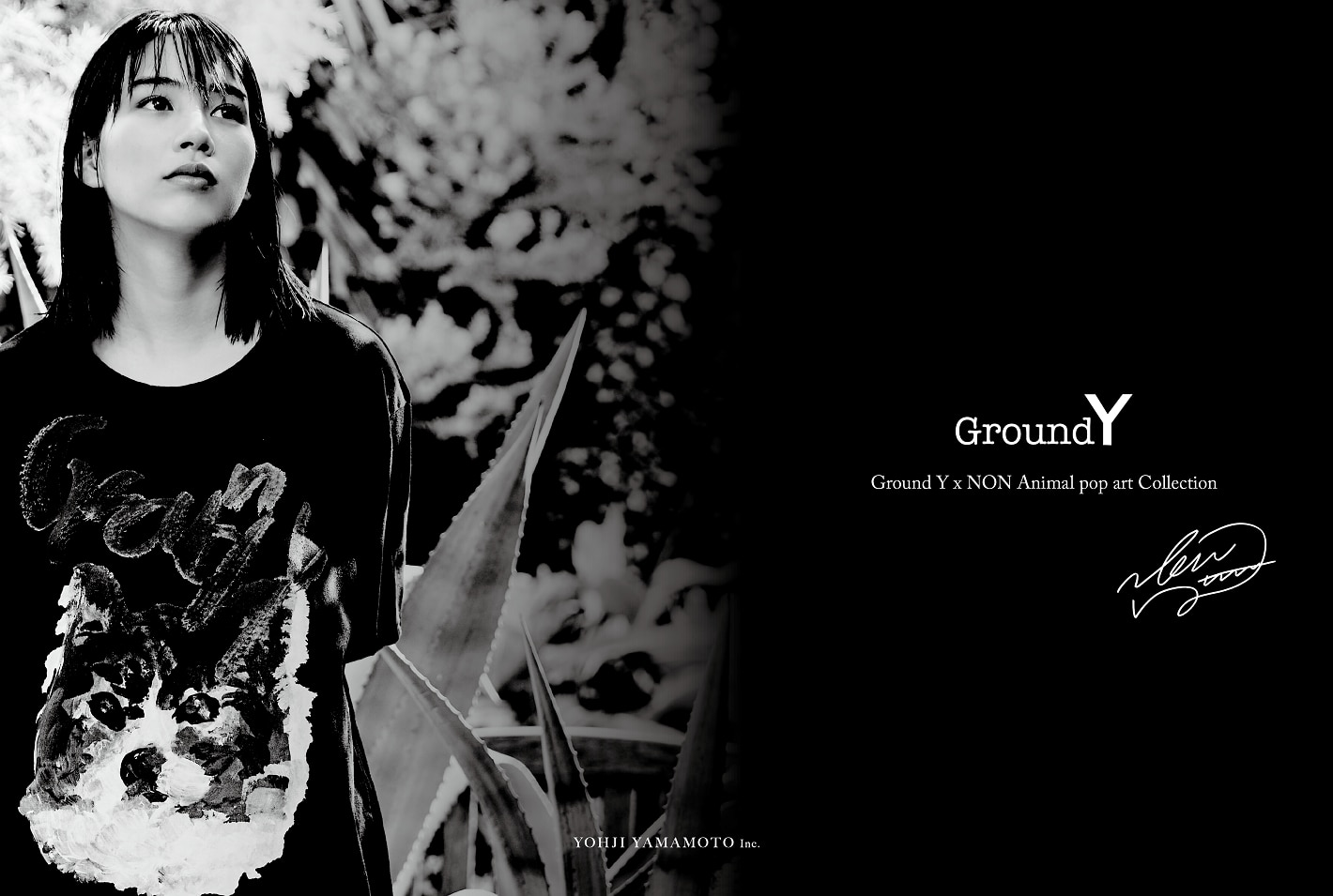 Ground Y × NON Animal pop art Collection