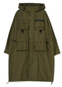 40/2 Cotton Broad Pocket Hood Coat