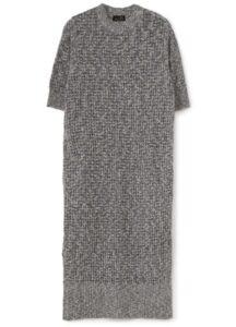 RIB COLOURED DRESS