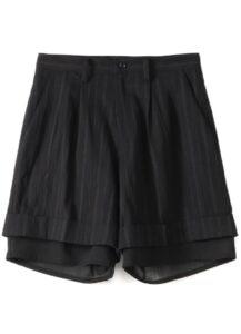 C/STRIPE U-DOUBLE SHORT PANTS