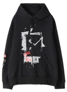 S'YTE × marquee club™️ French Terry Stitch Work Poster Collage Hoodie