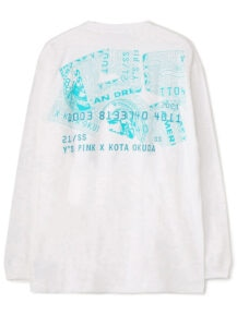 Y's PINK/KOTA OKUDA<br/>CD PRINT LONG SL T<br/>Available April 2