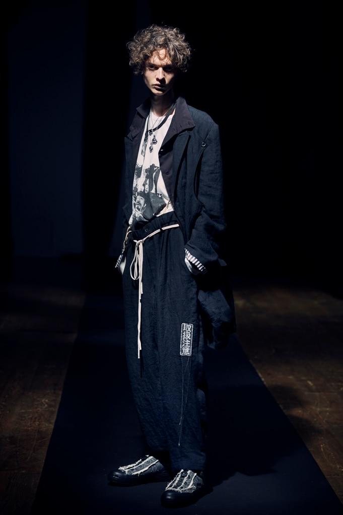 Yohji Yamamoto POUR HOMME SS21 – BLACK –