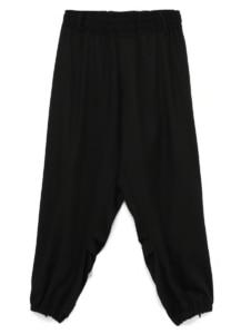 CHINO CLOTH BIG PANTS<br/>Available Black color