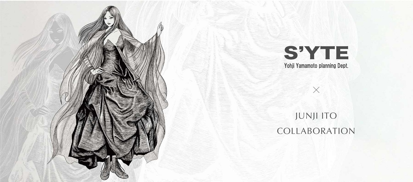 """S'YTE × Junji ITO COLLABORATION """"TOMIE"""" T-SHIRTS COLLECTION"""