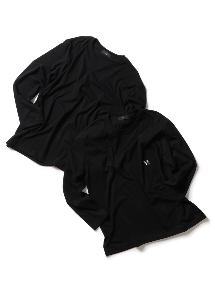 Y's ESSENTIALS – 2PIECES T-SHIRTS LONG SLEEVES