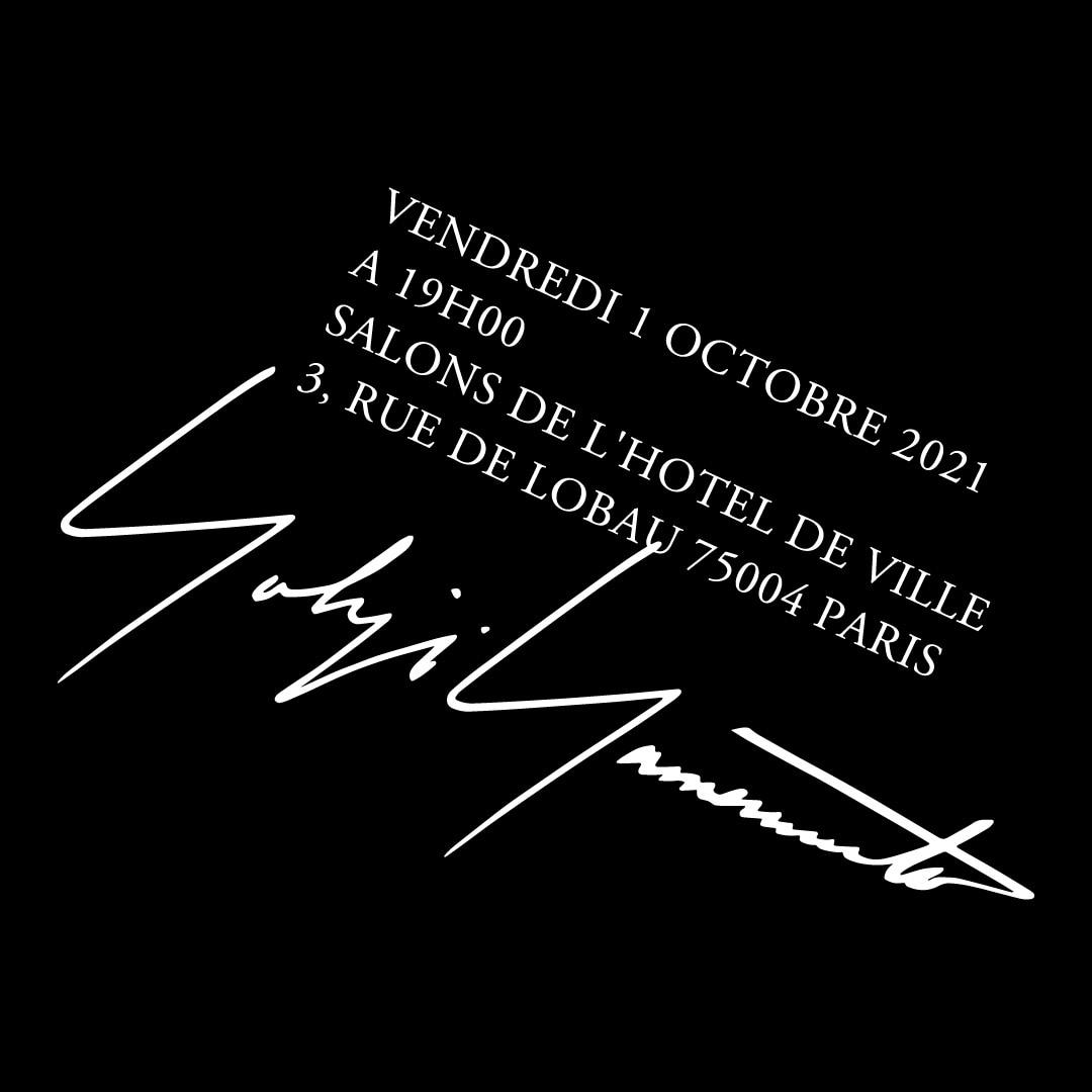 Yohji Yamamoto SPRING SUMMER 2022 PARIS COLLECTION