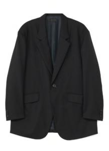 T/W Gabardine 1BS Round Shoulder Big Jacket
