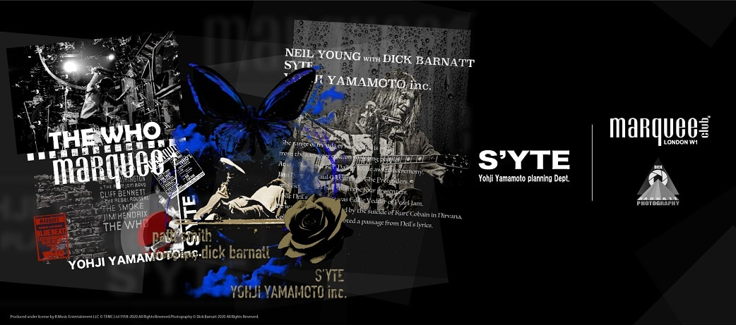 S'YTE × marquee club(R) COLLECTION AW21-22