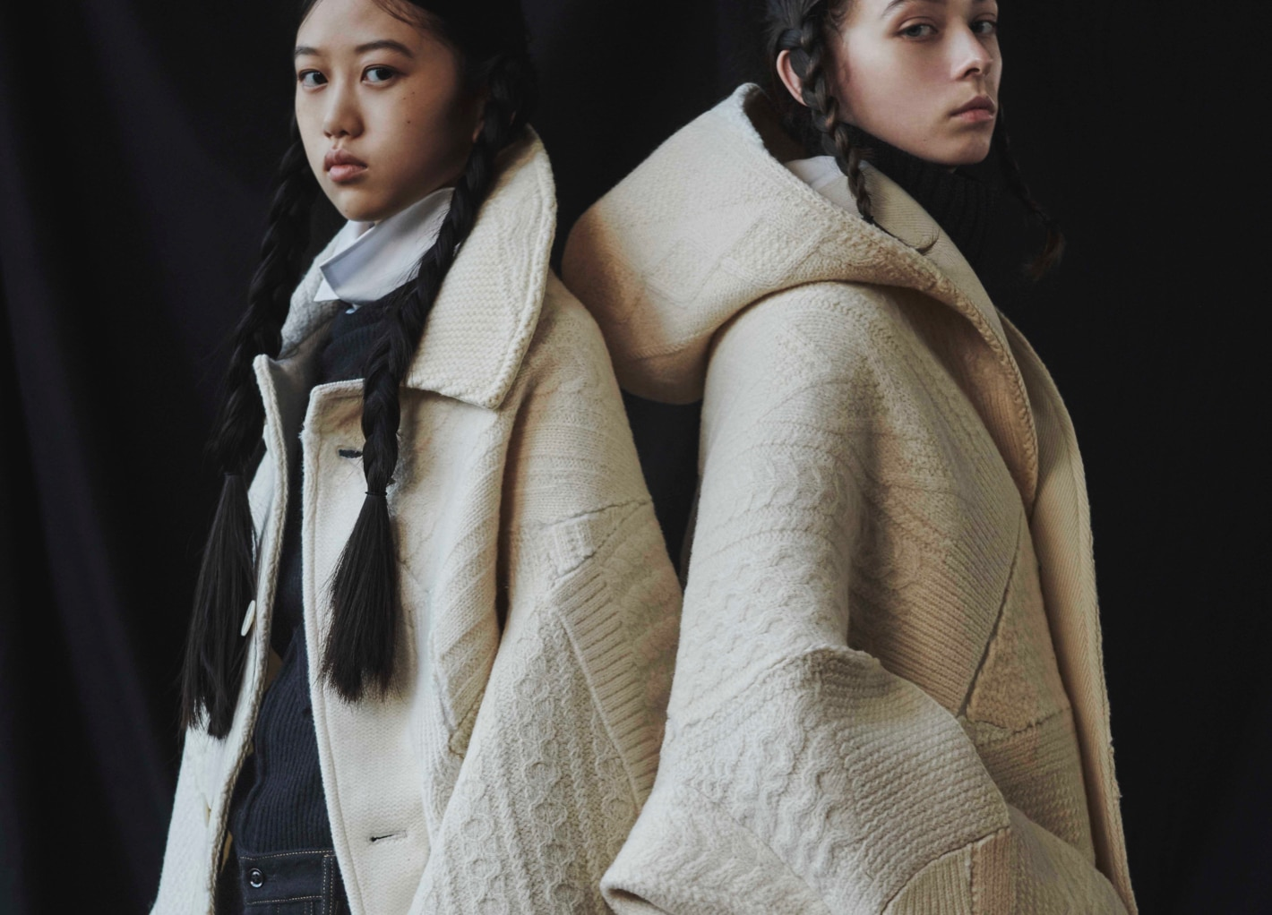 Y's AW21 POP-UP STORE: KNIT COAT