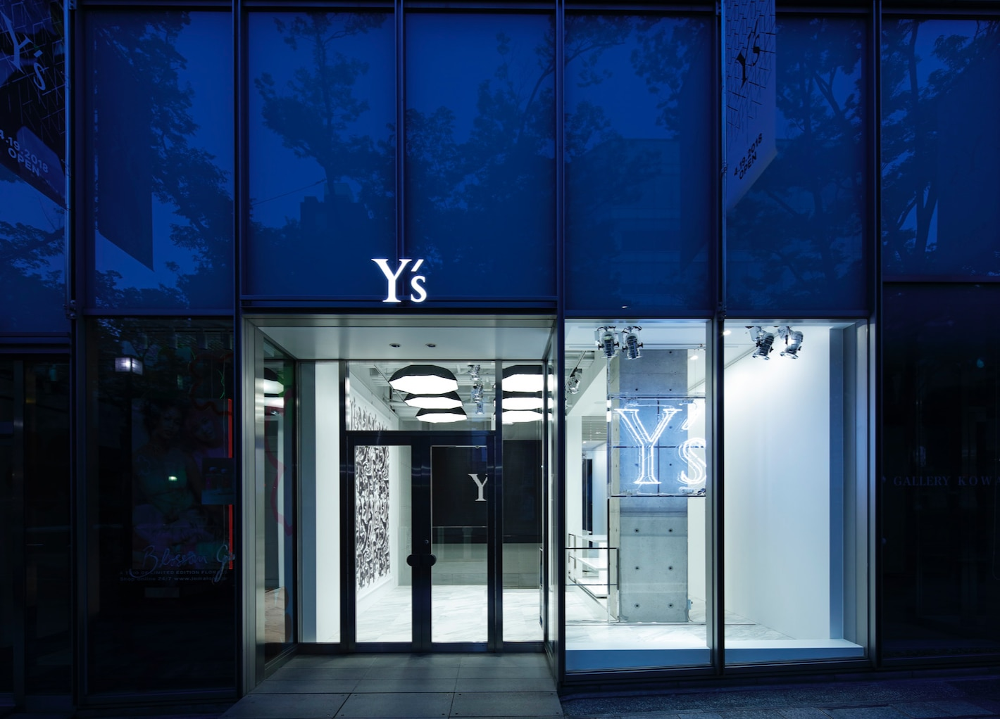 LIVE from Y's OMOTESANDO ─ 小貫莉奈さんや、都築拓紀さん(四千頭身)が登場